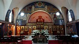Church Interior on Holy Saturday